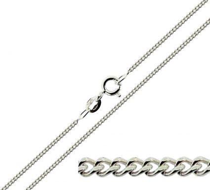 Sterling Silver 1.6mm Diamond Cut Curb Chain