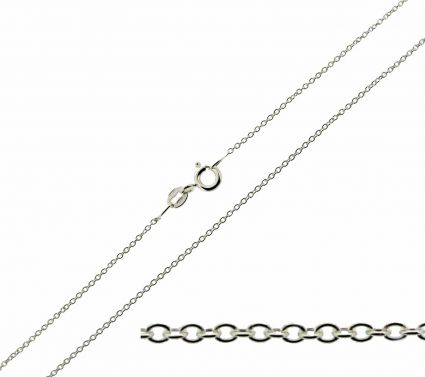 Sterling Silver 1mm Trace Chain