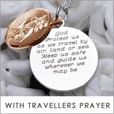 Personalised Travellers Prayer St Christopher Range