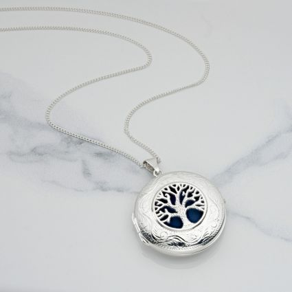Large Tree of Life Locket With Free Engraving