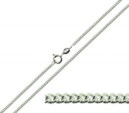 Sterling Silver 1.8mm Diamond Cut Curb Chain