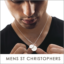 St Christopher Pendans for Men