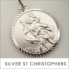 Sterling Silver St Christopher Pendants