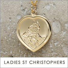 Ladies St Christopher Necklaces