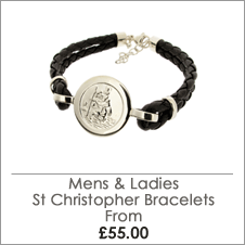 St Christopher Bracelets and Charms