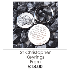 Extensive St Christopher Keyring Range