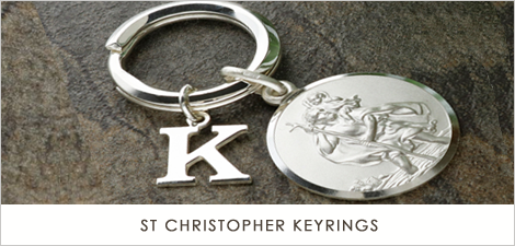 St Christopher Keyrings
