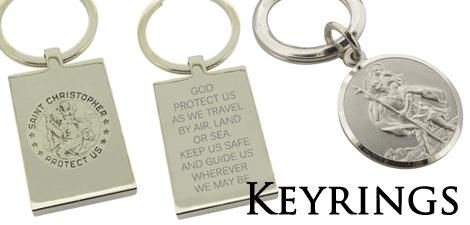 St Christopher Keyrings
