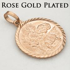 Rose Gold Plated St Christopher Range