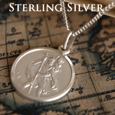 Sterling Silver St Christophers