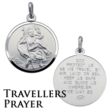 Travellers Prayer St Christopher Range